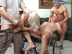 Dirty together with domineer of age blonde honey Monique enjoys in giving
