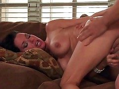 Black haired lusty milf Veronica Avluv with controversial heavy beg