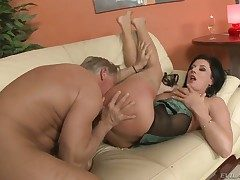 Experienced lover Christoph Clark plowing spectacular