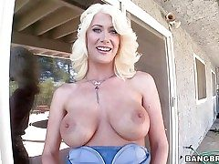 Riley Jenner is a beautiful platinum-blonde dame with adorably sexy