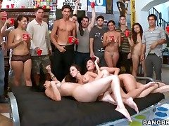 Jada Stevens rammed at a college soiree