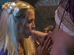 Jessica Drake is a cute pine haired medieval MILF. Beautiful